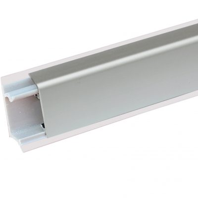 Алюминиевый плинтус Квадро С
